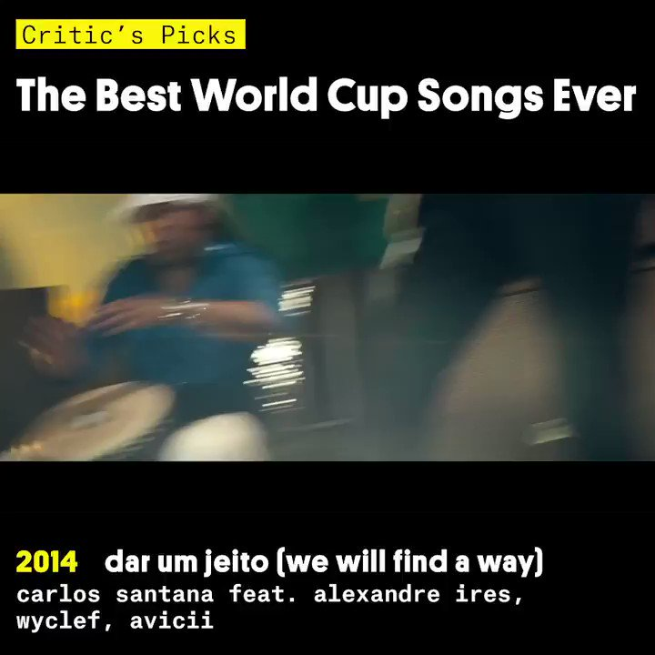 Favorite #WorldCup song ever, go! ⚽️