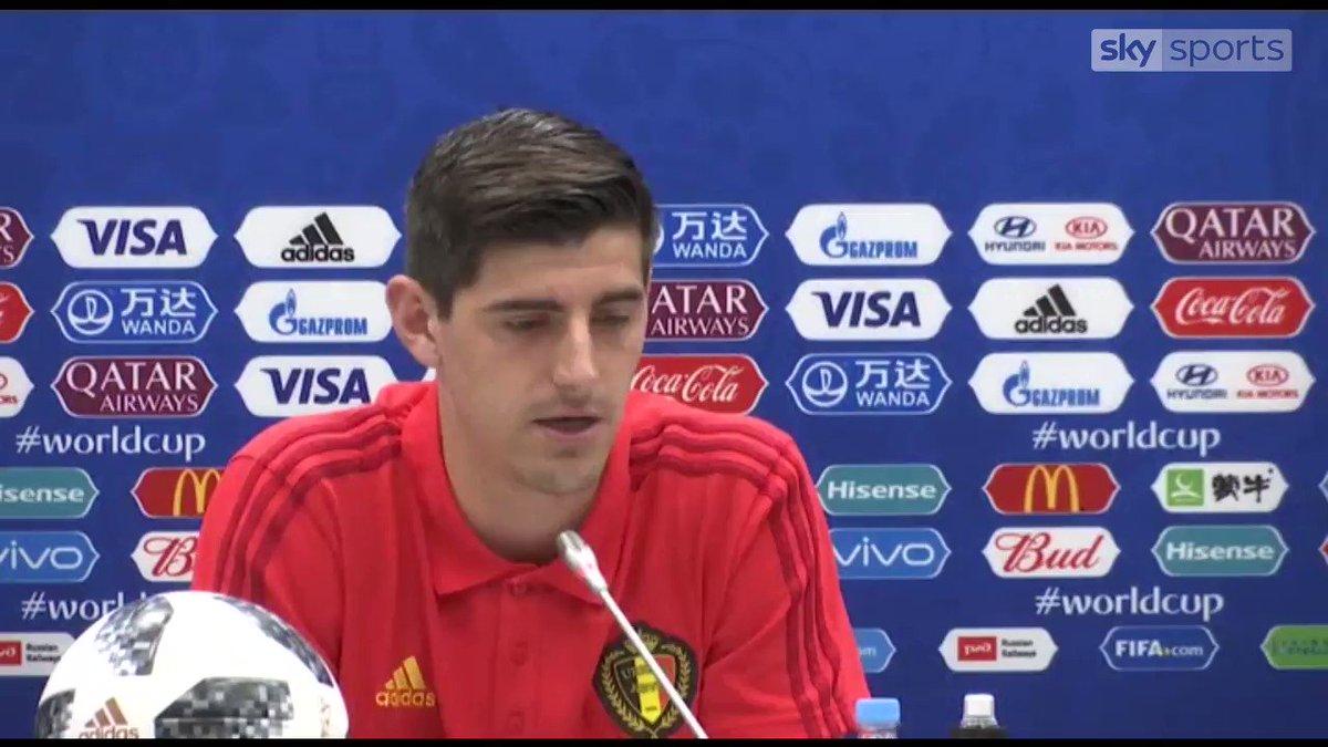 Thibaut Courtois: Belgium are not favourites