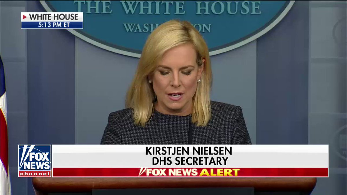"""""""Apprehension without detention and removal is not border security.""""  .@SecNielsen addresses immigration https://t.co/AFZTumvXYS"""