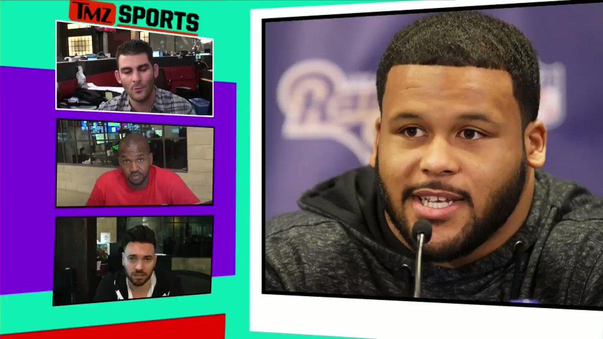 Rams Star Aaron Donald Hits 495-Pound Bench Press! Watch TMZ Sports on FS1 3am ET / 12am PT