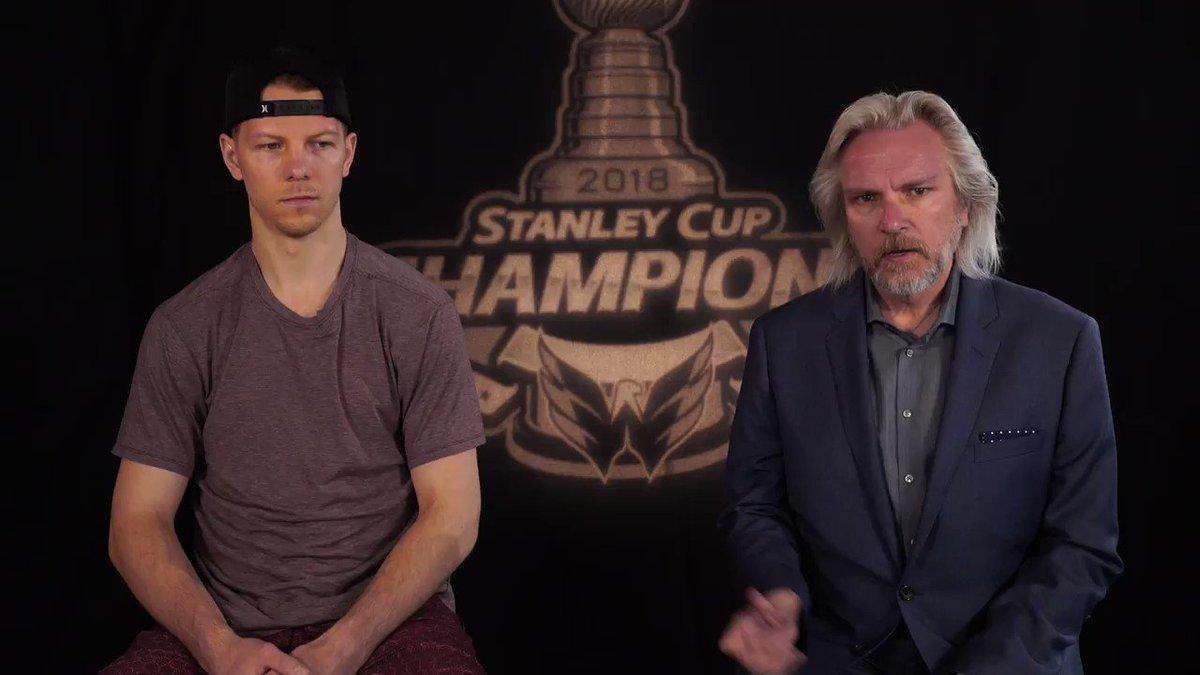One-on-One | From a PTO agreement in September to a #StanleyCup Championship in June - Alex Chiasson talks with @VogsCaps about his memorable season. #ALLCAPS