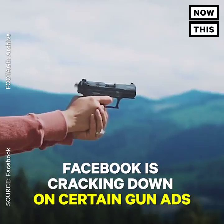 Facebook will stop showing gun accessory ads to minors