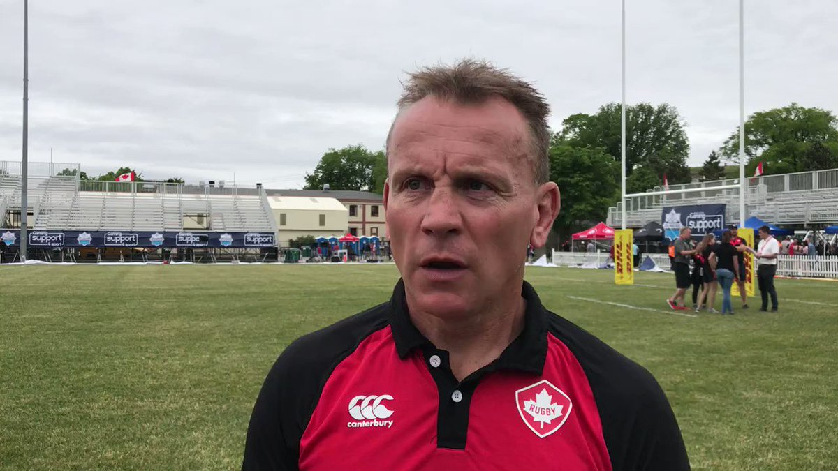 REACTION | Canada Head Coach, Kingsley Jones shares his thoughts on today's performance vs USA.   #<a target=