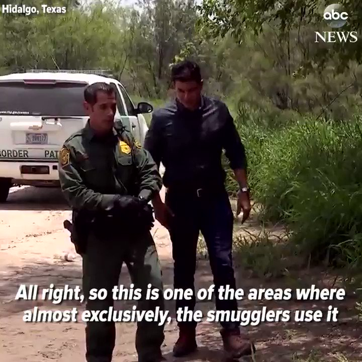 """ABC News on Twitter: """"""""Look, there's a smuggler.""""@T..."""