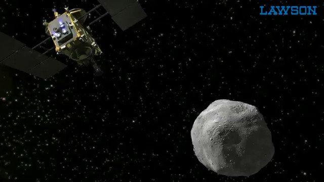 【予告】小惑星探査機「はやぶさ2」の目的地である小惑星リュウグウをイメージしたスイーツが7/10~発売になります(^^) #ローソン #ウチカフェ