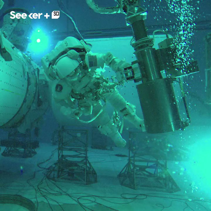 NASA's Neutral Buoyancy Laboratory is equipped with special technology to prep future astronauts for space.