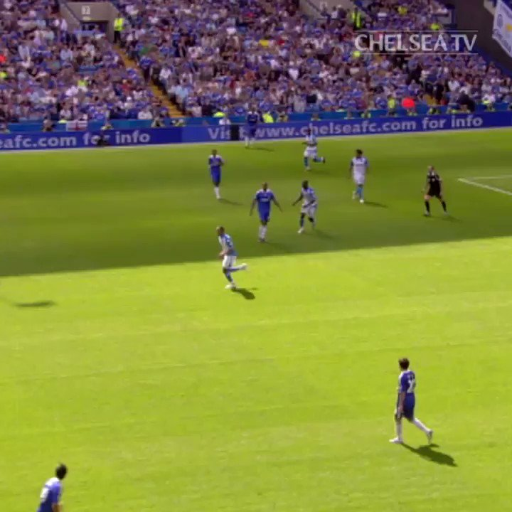 Chelsea paid €10 million for Deco on this day in 2008. Probably worth it, for this.