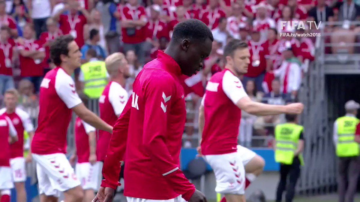 Pione Sisto discusses the winning mentality within the @dbulandshold team... How do YOU think Denmark will do in #CRODEN?