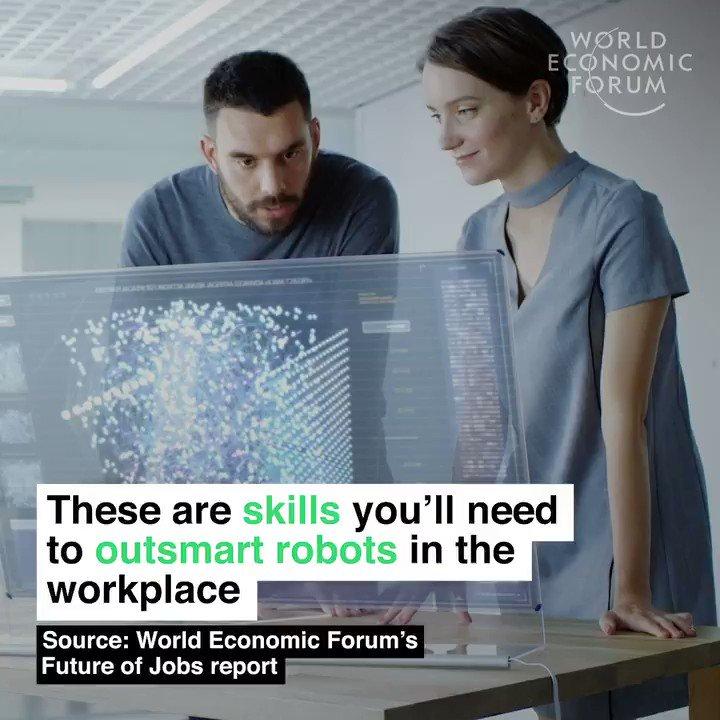 RT @RenatoMunari: 10 skills that give humans an edge over #robots and #AI #CES2020 #ArtificialIntelligence #FutureofWork #TechForGood #WEF20  via @wef cc @RenatoMunari @HaroldSinnott @ipfconline1 @SpirosMargaris @guzmand @ingliguori  @TerriKlass @Paula_P…