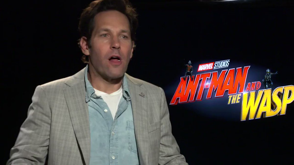Paul Rudd just makes everything funnier. ����#AntMan https://t.co/0oVVutFdJC