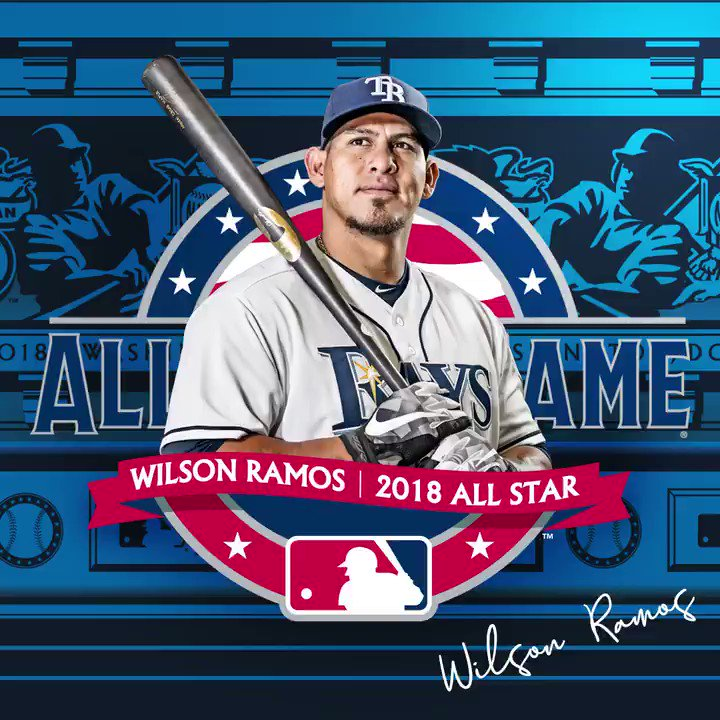 A buffalo-sized congrats to @WRamosC3!   #RaysUp https://t.co/kISSqmFH7h