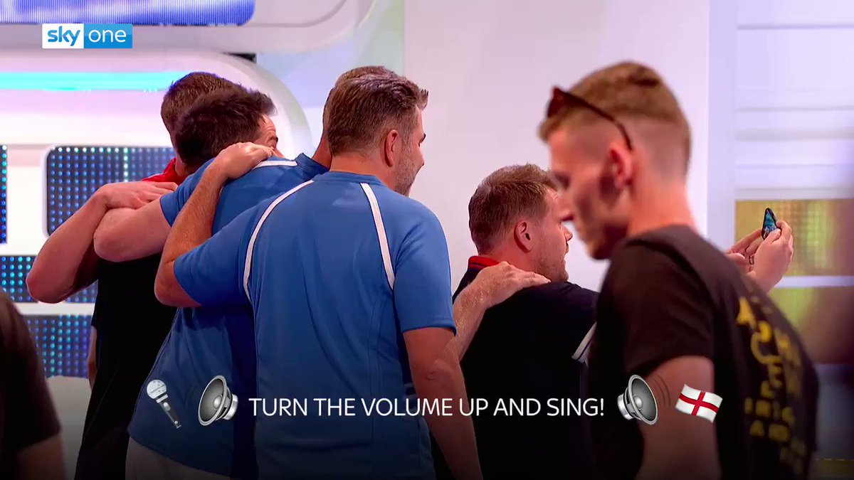 Football fever well and truly took over the @ALOTO studio during filming for series 13. Turn up the volume and sing your hearts out for Gareth and the boys! Come on England!! 🦁🦁🦁🏴󠁧󠁢󠁥󠁮󠁧󠁿 #ItsComingHome #ENGCRO #ENG #ALOTO