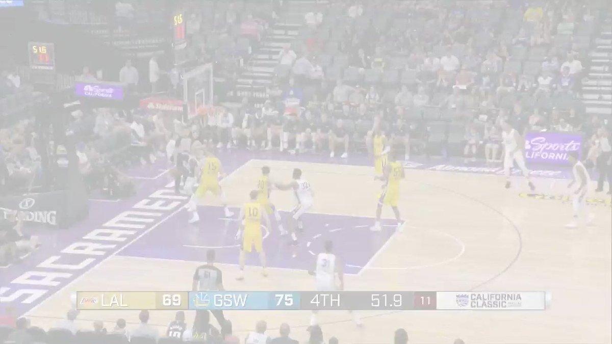 The BEST from @Lakers rook @moritz_weasley at the @NBASummerLeague! 💻: NBA.com/summerleague 🎟️: NBATickets.com