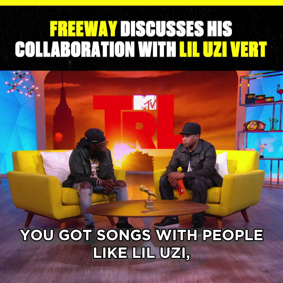 i live for collabs and i live for @phillyfreezer collabing with @liluzivert #TRL