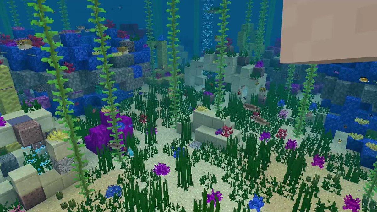 The ocean is a big place. @Minecraft's just got even bigger  🌊https://t.co/VwifINrjb7