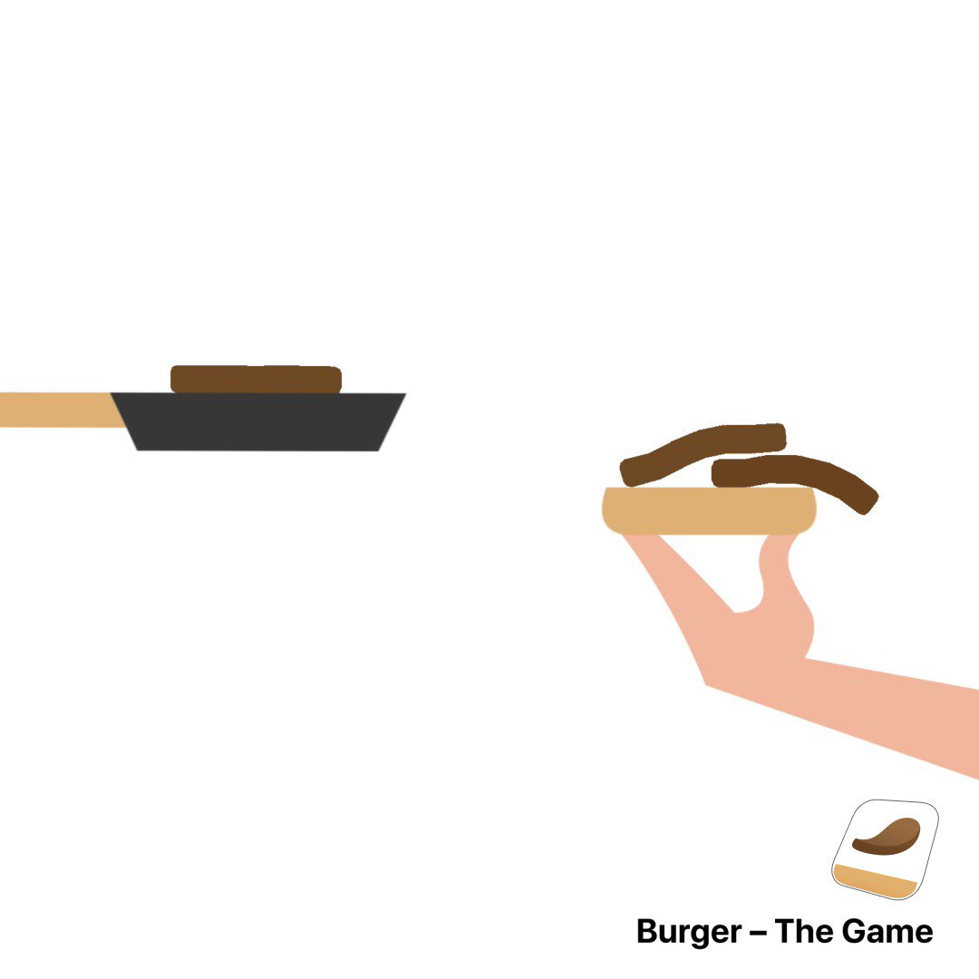 Ever fantasized about building a burger that's as tall as you are?Master the fine art of patty-stacking in Burger: The Game 🍔😋 https://t.co/S5diO0BuQc
