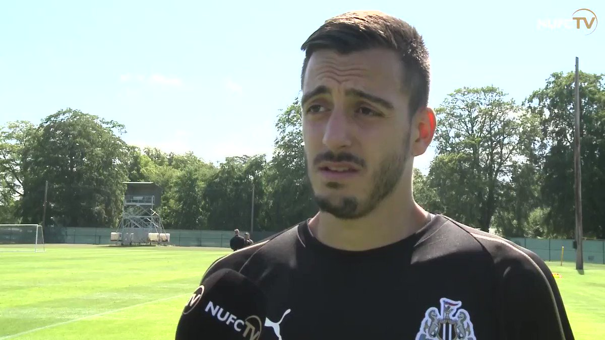 🎥 Newcastles first pre-season friendly of the summer is now just around the corner, and @JoseluMato9 is looking forward to facing @stpatsfc at Richmond Park in Dublin on Tuesday night. Watch the full interview for free: nufc.co.uk/nufc-tv/latest… #NUFC