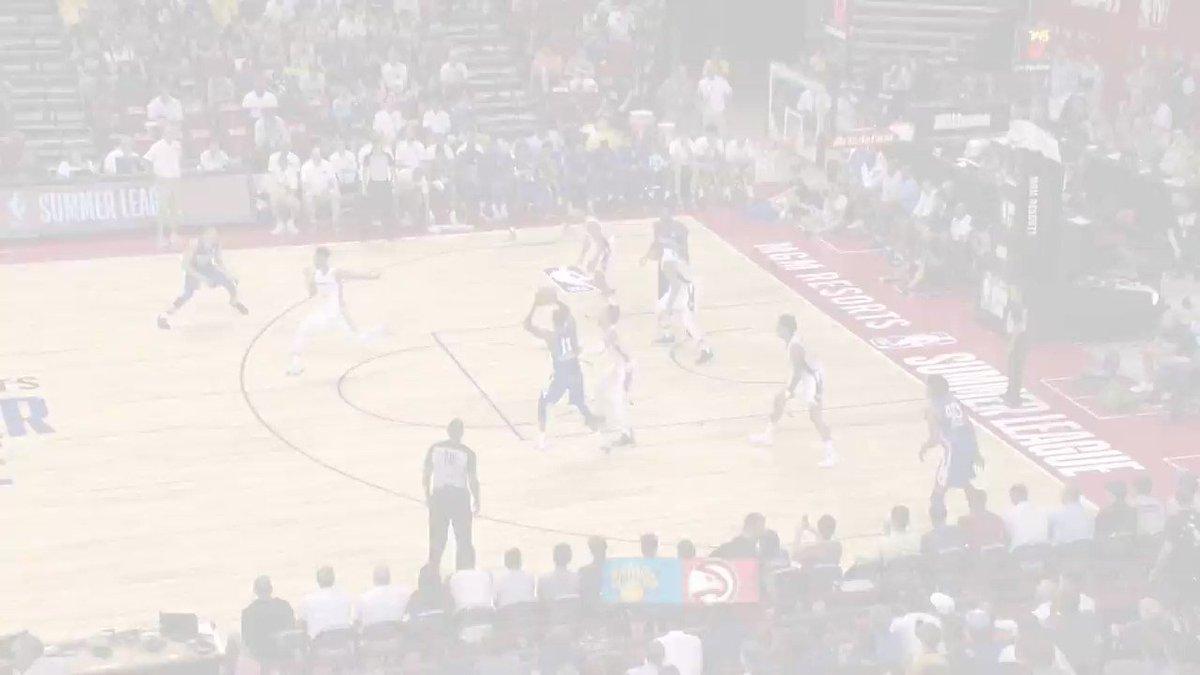 The BEST from @NYKnicks rook @KevKnox at the @NBASummerLeague! 💻: NBA.com/summerleague 🎟️: NBATickets.com