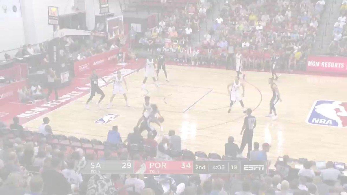 The BEST from @Spurs rook @lonniewalker_4 at the @NBASummerLeague! 💻: NBA.com/summerleague 🎟️: NBATickets.com