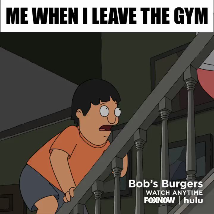 *Does one pushup.* #BobsBurgers