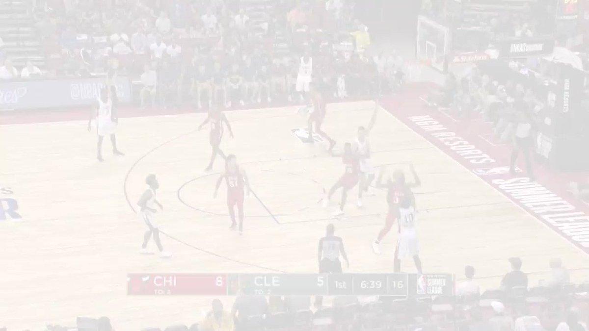 The BEST from @ChicagoBulls rook @wendellcarter34 at the @NBASummerLeague! 💻: NBA.com/summerleague 🎟️: NBATickets.com