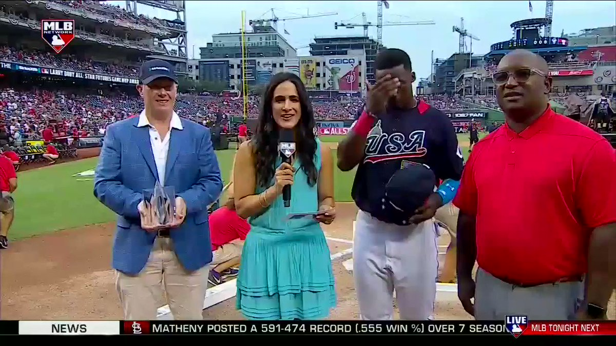 Your 2018 #FuturesGame MVP...   @Reds prospect @Taytram24!! ������ https://t.co/7iCrJyyxdo