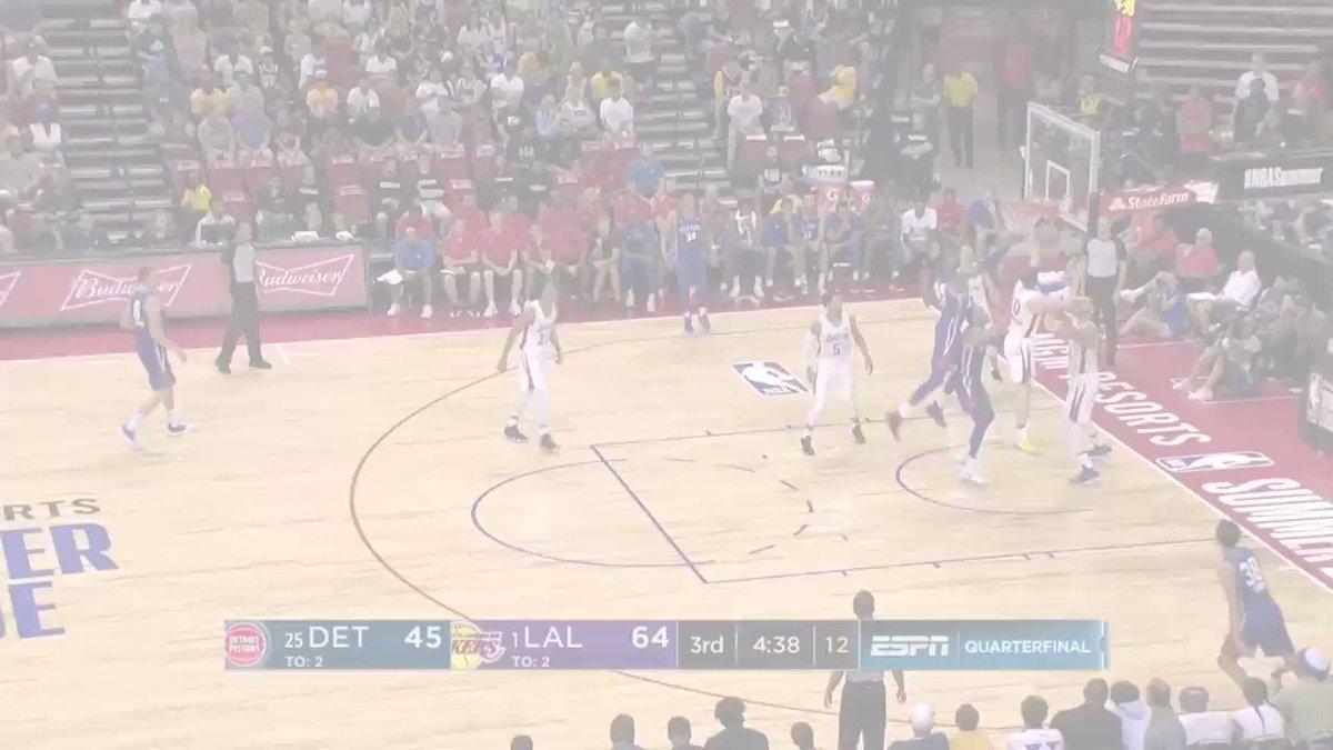 Big Blocks headline the TOP 5 PLAYS from Sunday's @NBASummerLeague playoff action! #NBASummer https://t.co/VHhkSOs8Sh