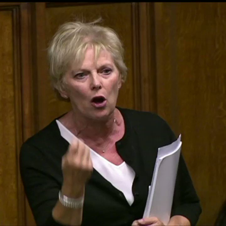 Conservative MP @Anna_Soubry attacked  'ideologically driven' colleagues with 'gold-plated pensions and inherited wealth' for ignoring the 'reality' of Brexit.