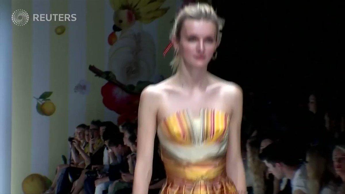ICYMI: Austrian fashion designer Lena Hoschek thrills with bold colors at Berlin Fashion Week https://t.co/31d8U72OIV