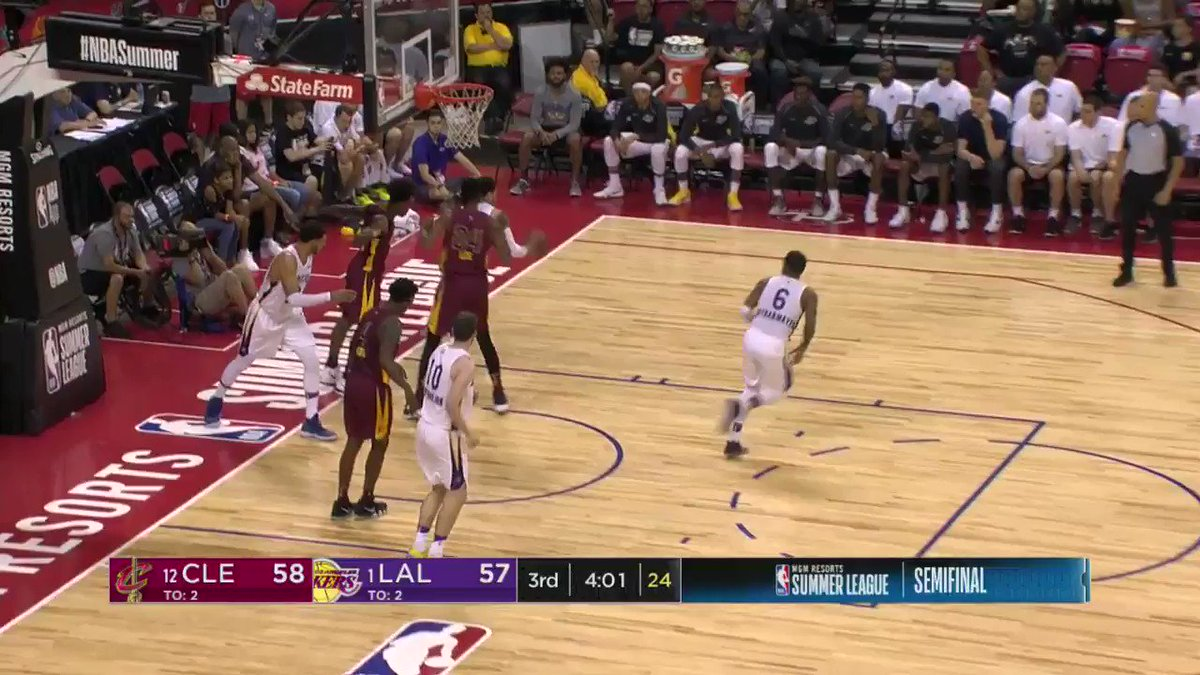 Coast-to-coast ➡️ AND-1! ��  #NBASummer on ESPN2 https://t.co/6gP896SPvY