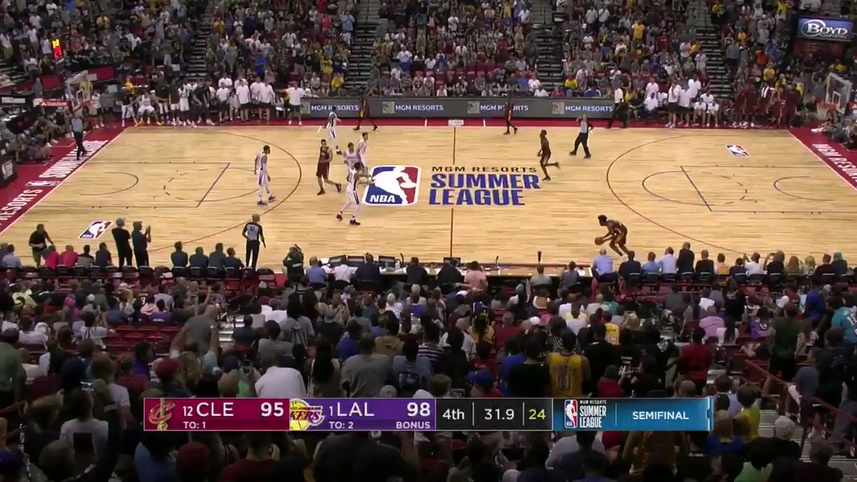 Collin Sexton'a big time 3 to tie the game!  #NBASummer on ESPN2 https://t.co/4ULYyxQs4h