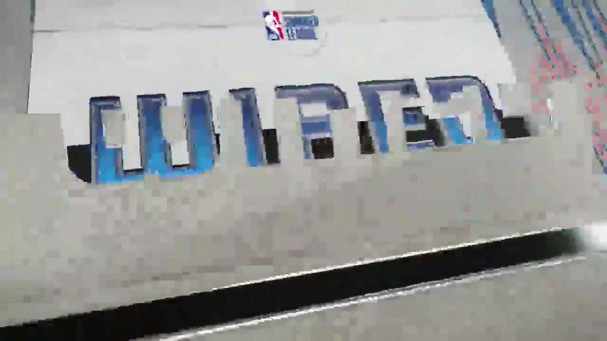 The @trailblazers Jim Moran and @memgrizz Greg Buckner MIC'D UP at the @NBASummerLeague! #NBASummer https://t.co/7s5LT63UAf