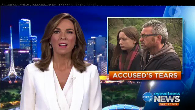 Image for the Tweet beginning: Accused wife killer Borce Ristevski