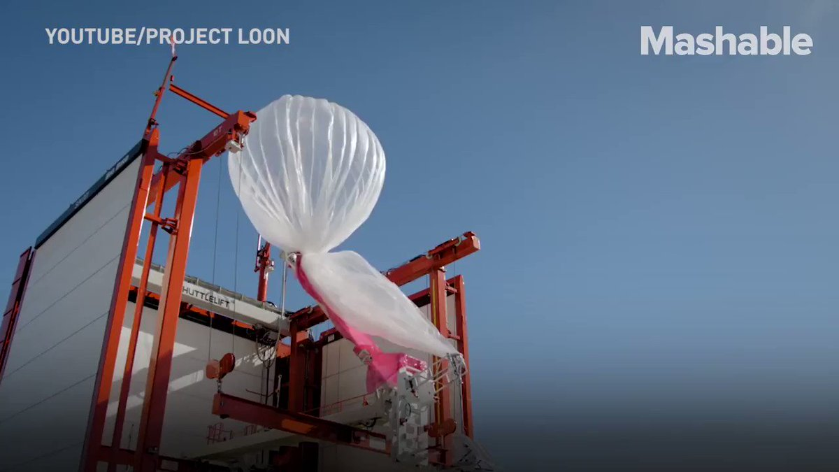 These high-altitude balloons could send internet signal to Kenya's most remote areas
