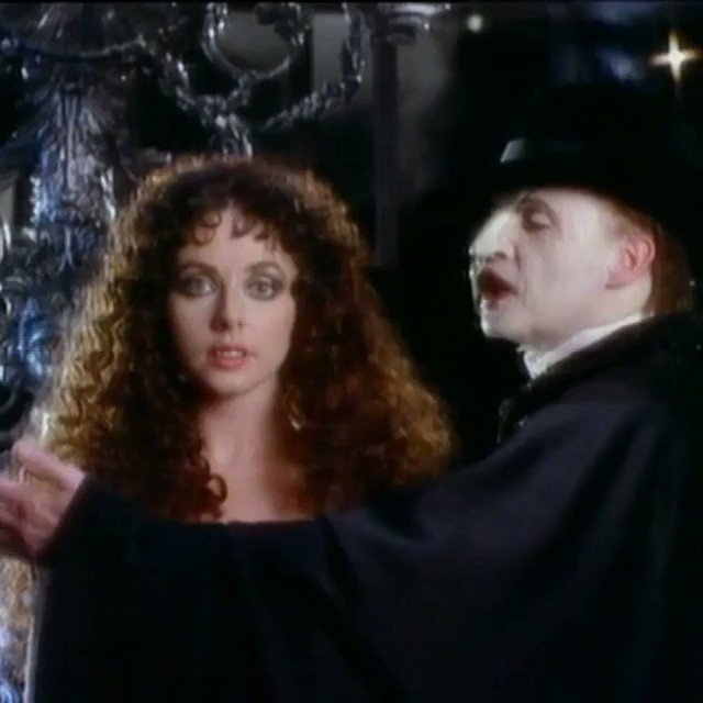 Thank you to @phantomguru25 for sharing this clip from the original 'The Music of the Night' video https://t