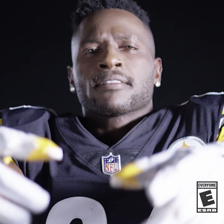 The #Madden19 cover is BOOMIN' with @AB84!