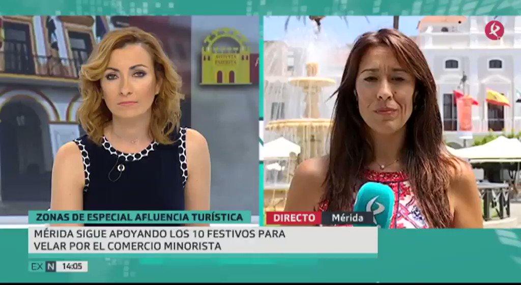 No es #Cáceres la única… también #Mérida se encuentra en la misma situación y podrán abrir 16 festivos. @MariolaBenito te cuenta más 👇 #EXN https://t.co/mP5yk1YmRs