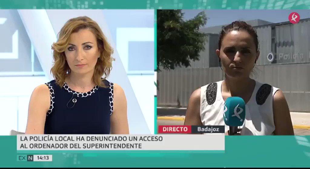 🚔Un robo polémico en #Badajoz. El cuerpo de Policía Local asegura que se ha sustraído información del ordenador del superintendente, mientras que el sindicato USO lo ve muy difícil #EXN https://t.co/Ou14dgsLdf