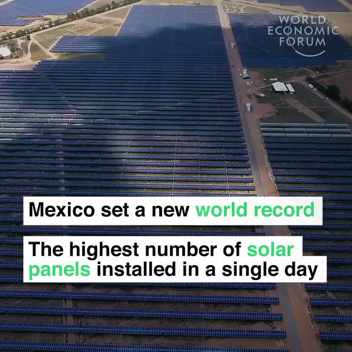 That's 18,990 solar panels before the sun went down. Read more about the future of energy: https://t.co/q0mhr9TcCO https://t.co/UytYd0Vraa