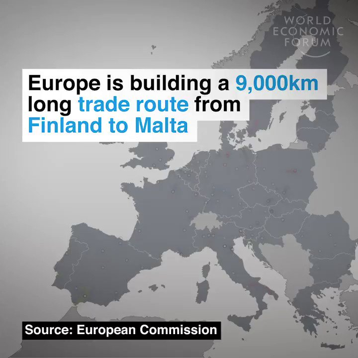 Image for the Tweet beginning: EU member states are building