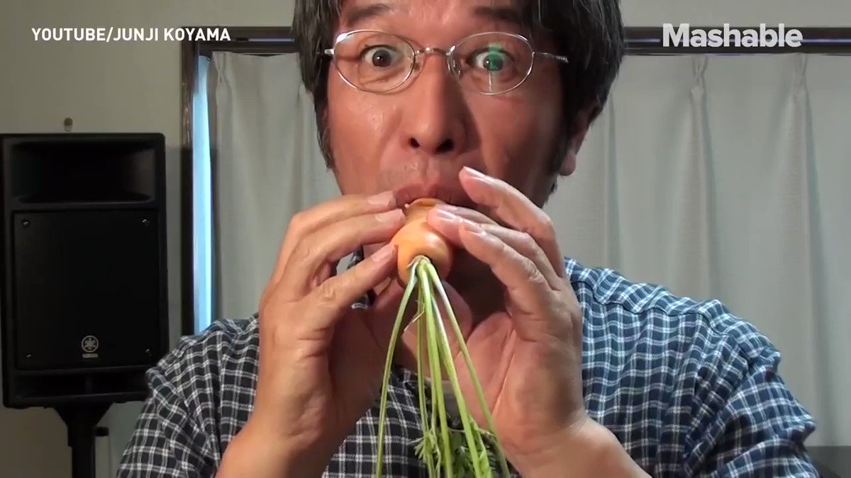This man makes music out of vegetables