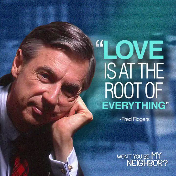 Be moved. Be inspired. Be kind. #WontYouBeMyNeighbor now playing: bit.ly/mrrogers-tix
