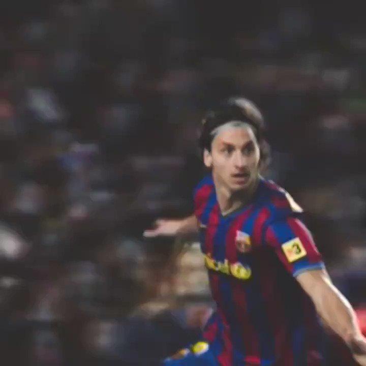 Zlatan Ibrahimovic. Barcelona. La Liga. It was fun while it lasted. 🍿