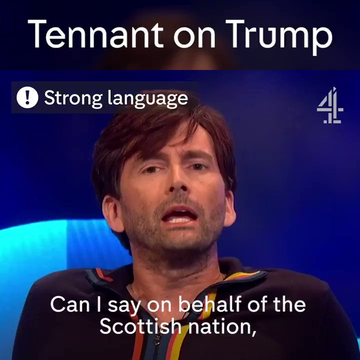 David Tennant on Donald Trump is what you need to hear right now. #TheLastLeg @David_Tennant
