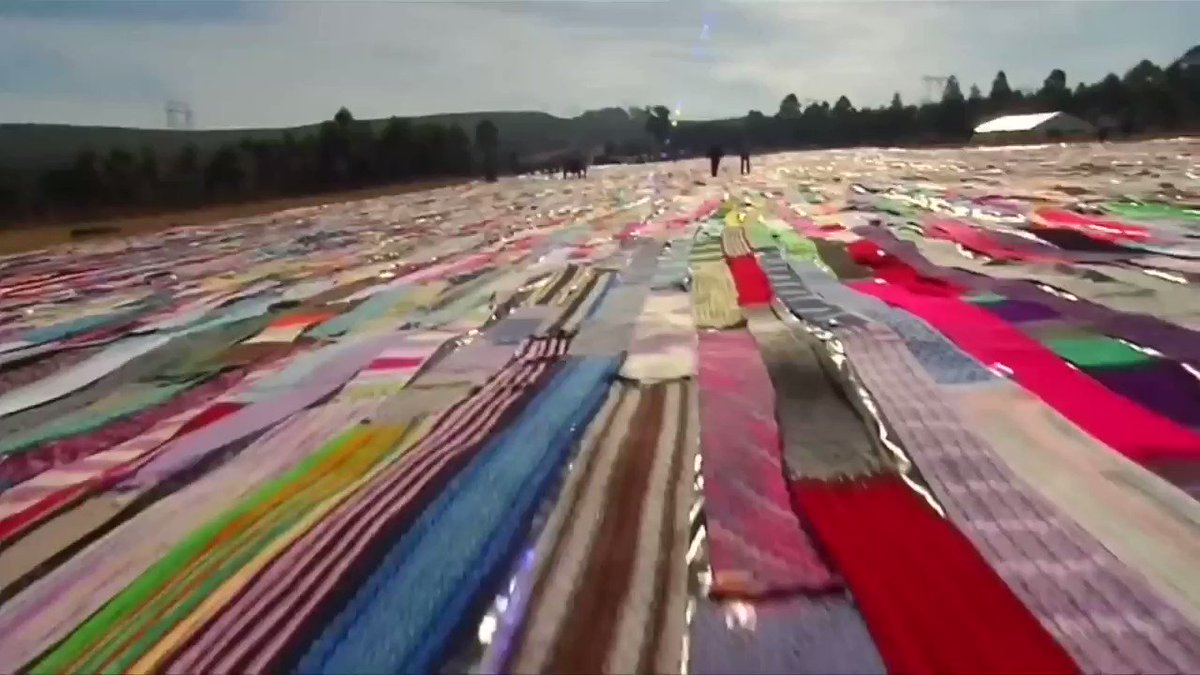 South Africa breaks Guinness World Record for the longest crocheted scarf https://t.co/FSboYhhffw