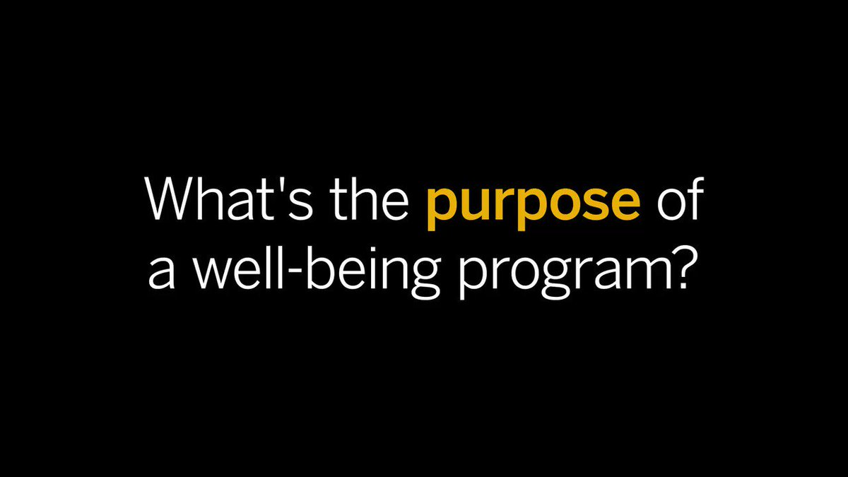 Measurement is key when implementing a well-being program, but without setting goals--you'll be spinning your wheels! See how you can successfully measure #employeewellness ROI here: https://t.co/psYX70td0B #SAPAppCenter