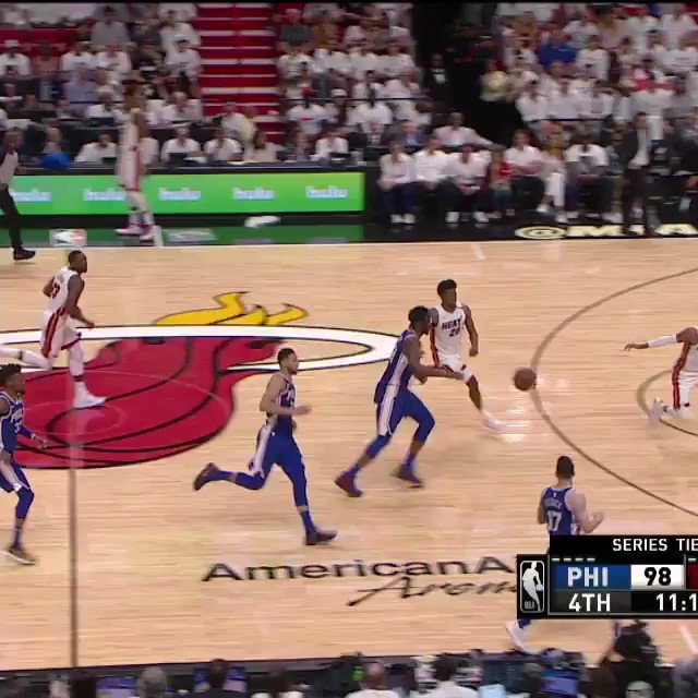 At #46 of the TOP 60 SWATS from the 2017-18 season... @IamJustise of the @MiamiHEAT!   #NBABlockWeek #BESTofNBA https://t.co/8q7njzQUab
