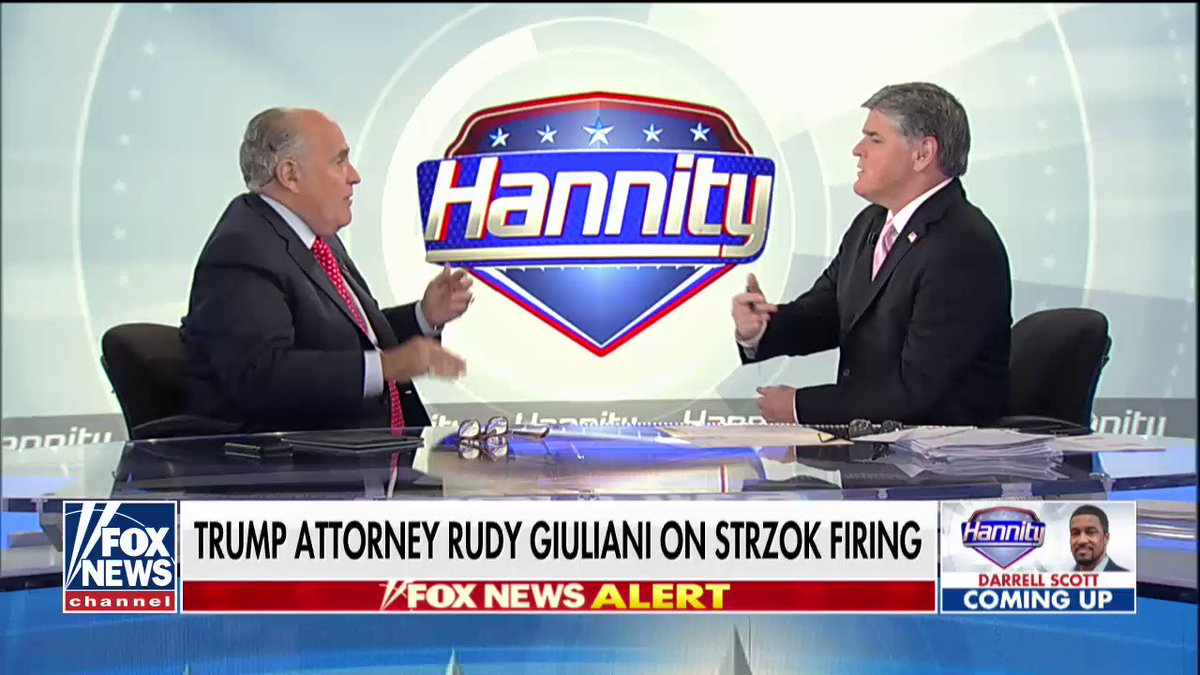 Running out the clock is something you do in a game, @RudyGiuliani. Bob Mueller's not playing games. There's no clock; there's just the truth ... and he'll get to it when he's goddamn good and ready. And when he does? You're all fucked.   Sleep well!