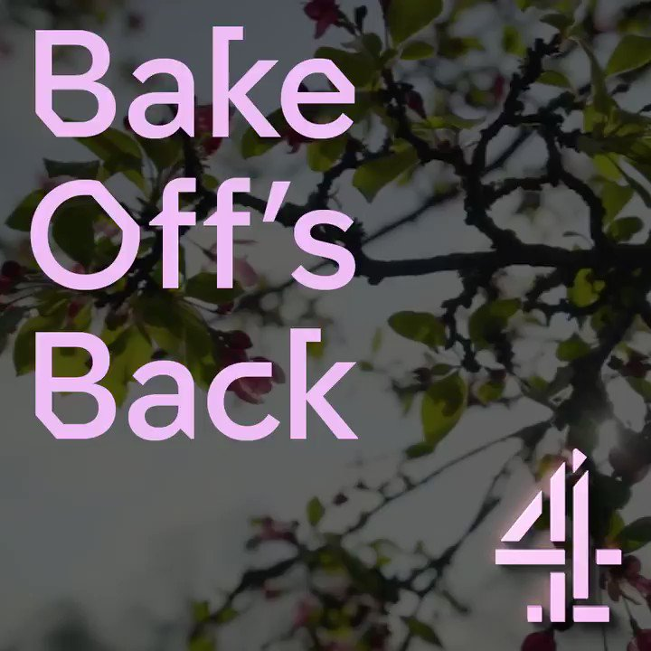 The Great British Bake Off. #GBBO returns Tuesday 28th Aug 8pm