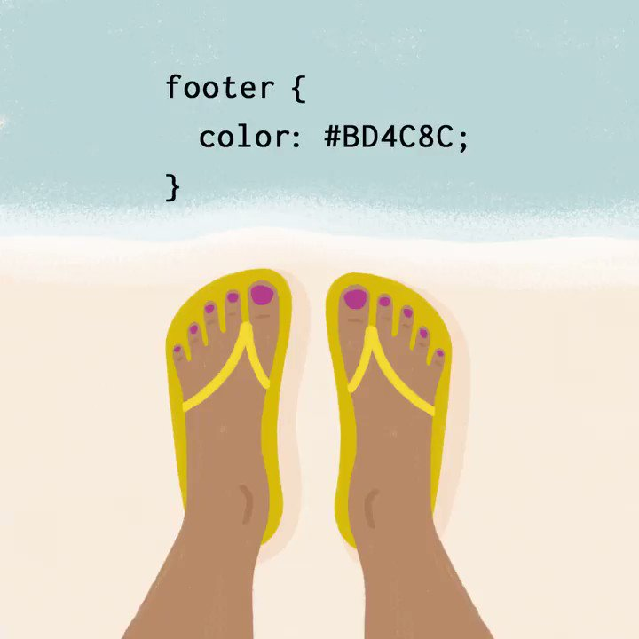A coder walks into a nail salon. Asks for her color by hex value. 😜